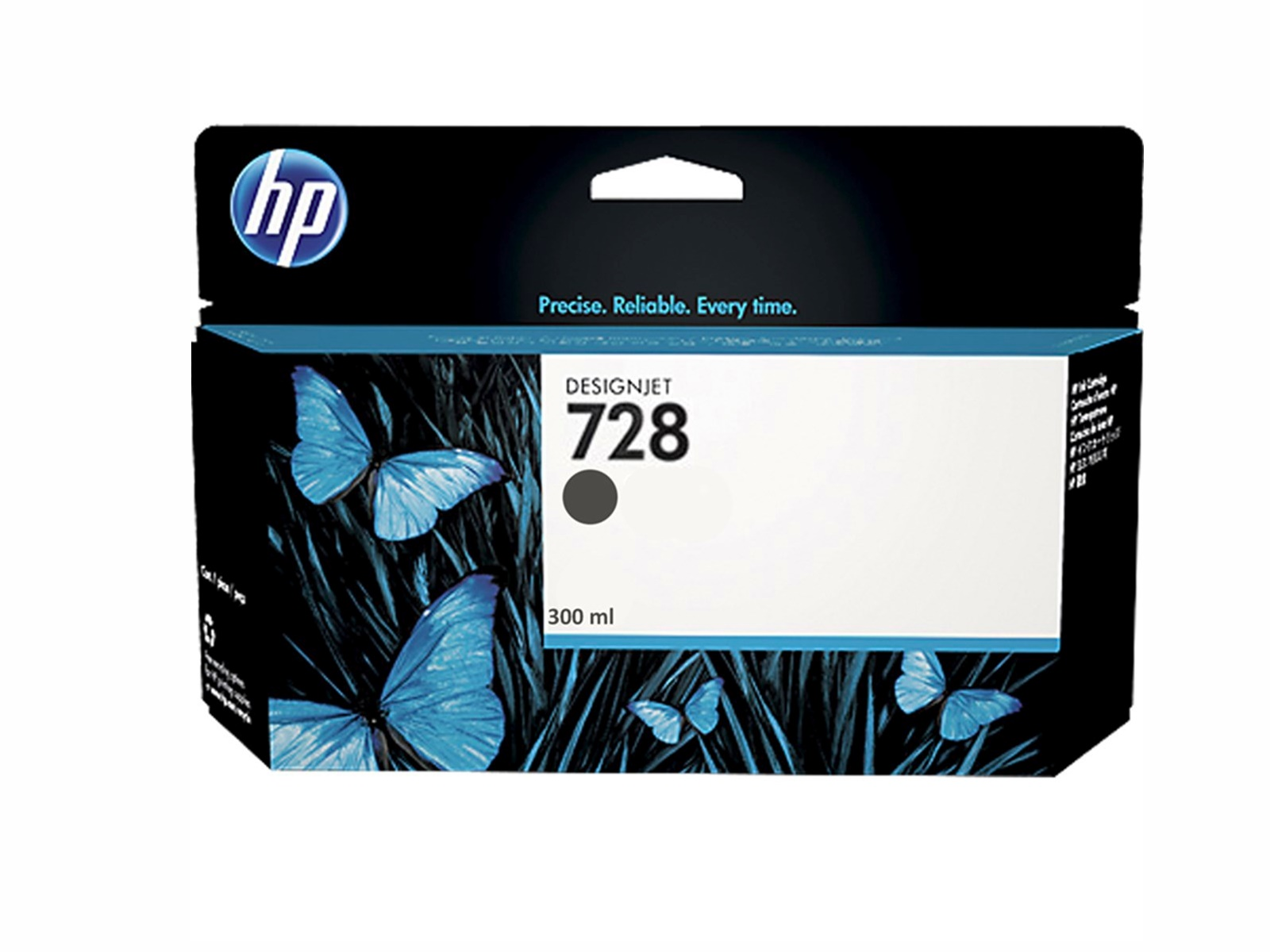 TONER 728 NEGRO MATE 300ML F9J68A HP