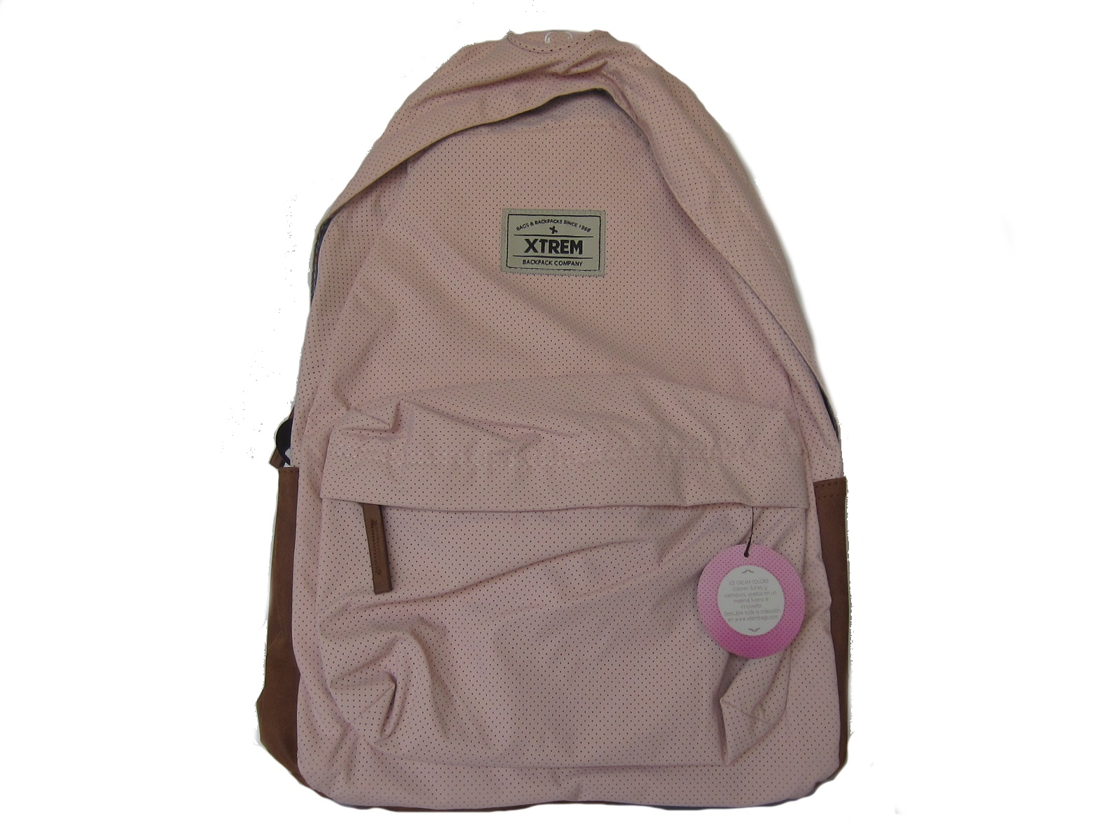 BONDY LTD 710 BACKPACK ROSE PUNCHED 87572-6143