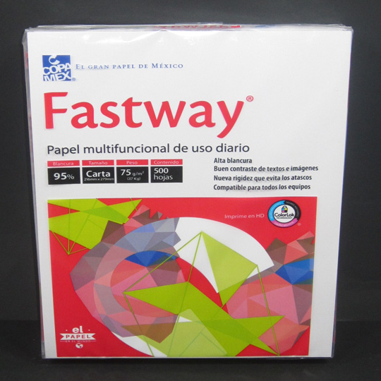 PAPEL FASTWAY BOND 37K. BCO T/ CTA C/500 95% BCO  DESCONTINU