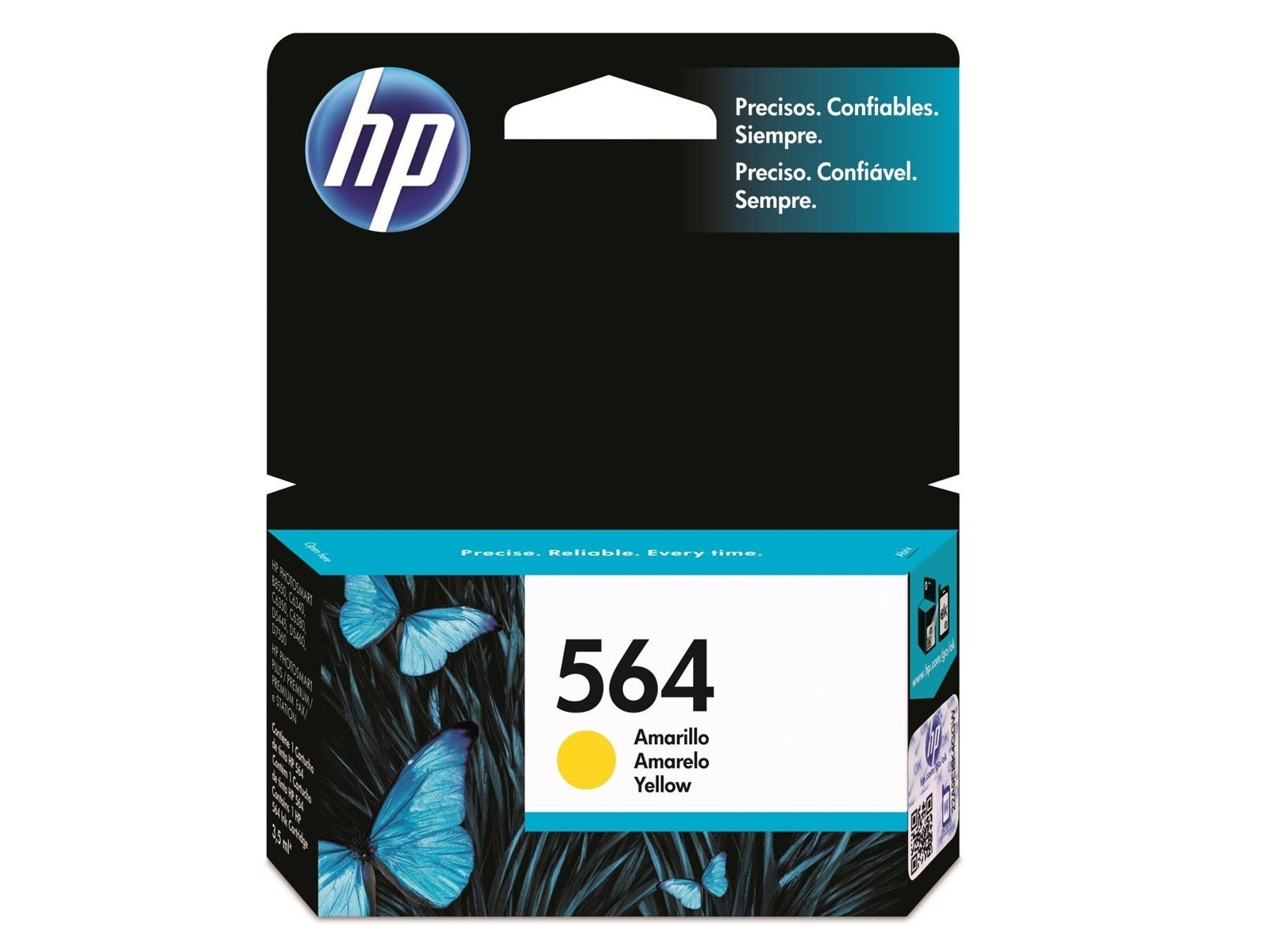 CARTUCHO HP 564 AMARILLO CB320W